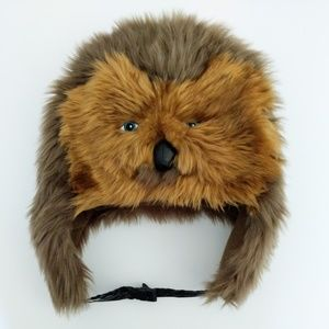 Disney Chewbacca Fur Faux Hat Adult OS
